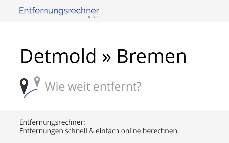Entfernung Bremen
