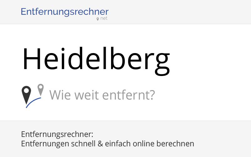 Entfernung Mannheim Heidelberg : wo liegt heidelberg deutschland entfernung land karte ~ Watch28wear.com Haus und Dekorationen