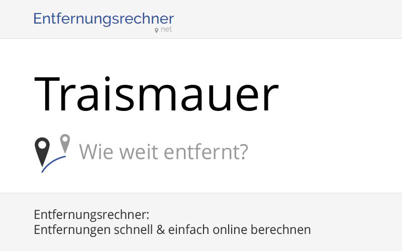 Wo liegt Traismauer, Österreich? Entfernung, Land & Karte